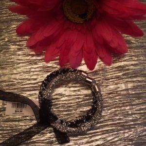 NWT Set of 2 Glitter Bracelets by Loft